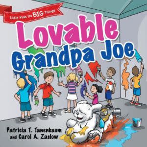 Award-Winning Children's book — Lovable Grandpa Joe
