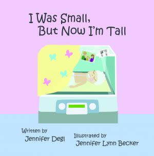 Award-Winning Children's book — I Was Small But Now I'm Tall