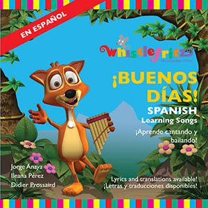 Award-Winning Children's book — BUENOS DÍAS – Spanish Learning Songs