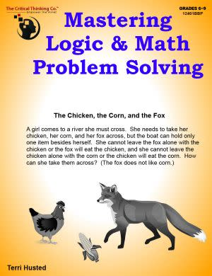 Award-Winning Children's book — Mastering Logic & Math Problem Solving