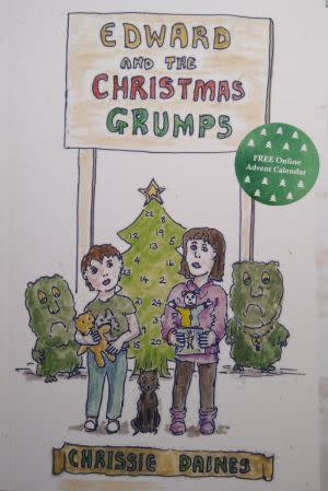 Award-Winning Children's book — Edward And The Christmas Grumps