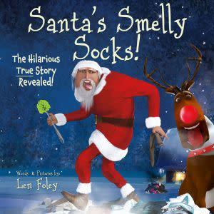 Award-Winning Children's book — Santa's Smelly Socks!