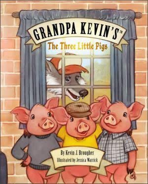 Award-Winning Children's book — Grandpa Kevin's...The Three Little Pigs