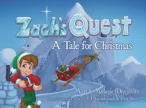 Award-Winning Children's book — Zach's Quest: A Tale for Christmas