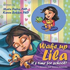 Award-Winning Children's book — Wake Up Lila its time for School