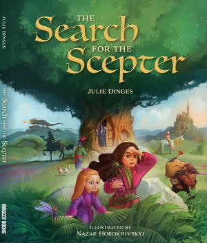Award-Winning Children's book — The Search for the Scepter
