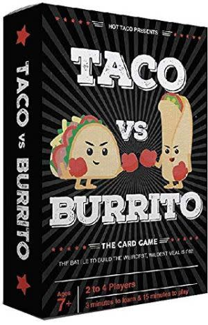 Award-Winning Children's book — Taco vs Burrito Card Game