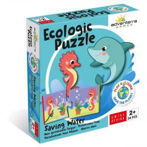Award-Winning Children's book — Saving Water--Ecologic Puzzle
