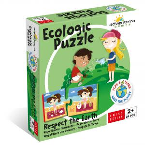Award-Winning Children's book — Respect the Earth --Ecologic Puzzle