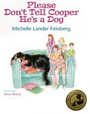 Award-Winning Children's book — Please Don't Tell Cooper He's a Dog