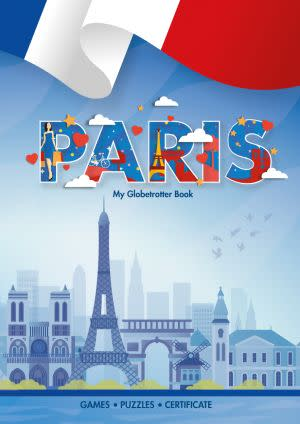 Award-Winning Children's book — My Globetrotter Book: Paris