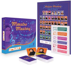 Award-Winning Children's book — Maestro Mastery  - Explore the Composers
