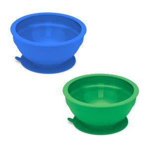 Award-Winning Children's book — Glass and Silicone Suction Bowls Set of 2