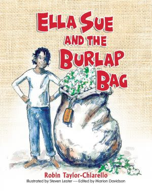 Award-Winning Children's book — Ella Sue and the Burlap Bag