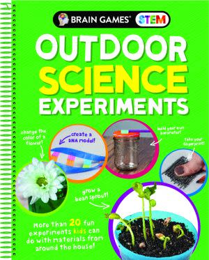 Award-Winning Children's book — Brain Games STEM: Outdoor Science Experiments
