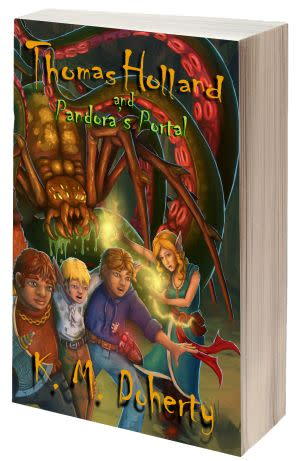 Award-Winning Children's book — Thomas Holland and Pandora's Portal