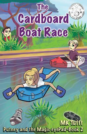 Award-Winning Children's book — The Cardboard Boat Race: Putney and the Magic eyePad–Book 2