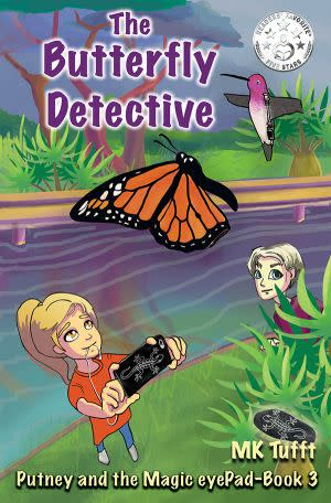 Award-Winning Children's book — The Butterfly Detective: Putney and the Magic eyePad–Book 3