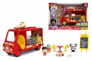 Award-Winning Children's book — Ryan's World Food Truck Playset