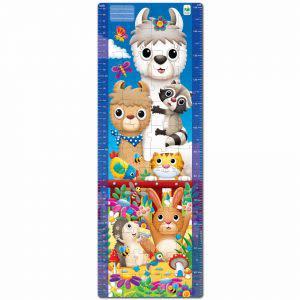 Award-Winning Children's book — Long & Tall Puzzle - Animal Friends Growth Chart