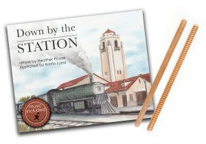 Award-Winning Children's book — Down by the Station