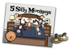Award-Winning Children's book — 5 Silly Monkeys