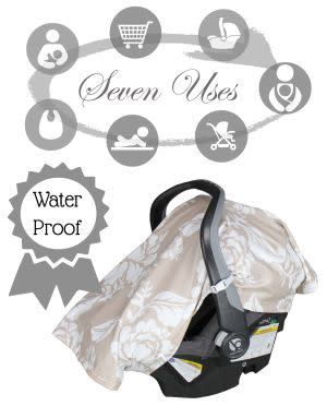 Award-Winning Children's book — B.Loved Baby Outings 7 in 1 Waterproof Baby Cover