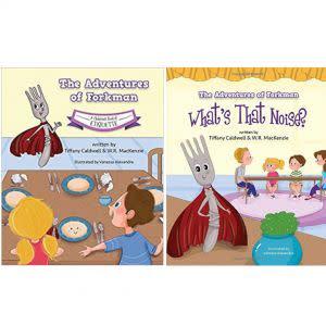 Award-Winning Children's book — The Adventures of Forkman - Two Book Set: