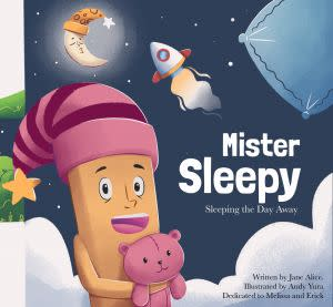 Award-Winning Children's book — Mister Sleepy