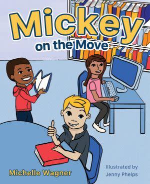 Award-Winning Children's book — Mickey on the Move