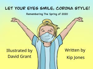 Award-Winning Children's book — Let Your Eyes Smile, Corona Style!