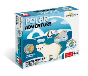 Award-Winning Children's book — Polar Adventure: Disappearing Ice
