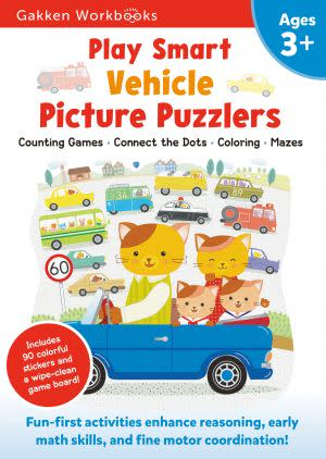 Award-Winning Children's book — Play Smart Vehicle Picture Puzzlers 3+