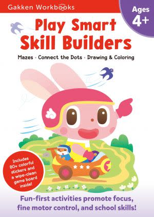 Award-Winning Children's book — Play Smart Skill Builders 4+