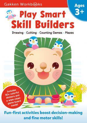 Award-Winning Children's book — Play Smart Skill Builders 3+