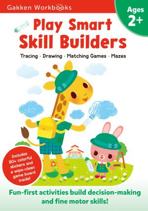 Award-Winning Children's book — Play Smart Skill Builders 2+