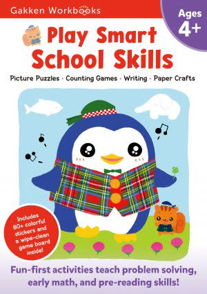 Award-Winning Children's book — Play Smart School Skills 4+