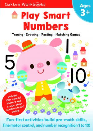 Award-Winning Children's book — Play Smart Numbers 3+