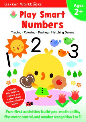 Award-Winning Children's book — Play Smart Numbers 2+