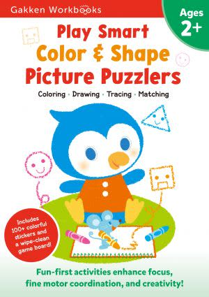 Award-Winning Children's book — Play Smart Color & Shape Picture Puzzlers 2+