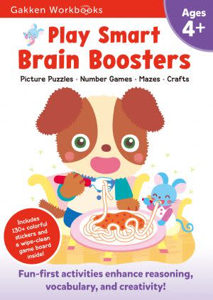 Award-Winning Children's book — Play Smart Brain Boosters 4+