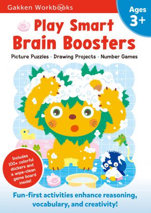 Award-Winning Children's book — Play Smart Brain Boosters 3+