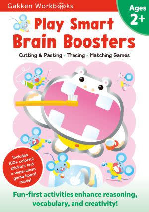 Award-Winning Children's book — Play Smart Brain Boosters 2+