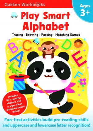 Award-Winning Children's book — Play Smart Alphabet 3+