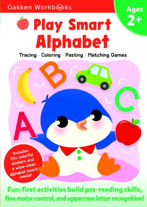 Award-Winning Children's book — Play Smart Alphabet 2+