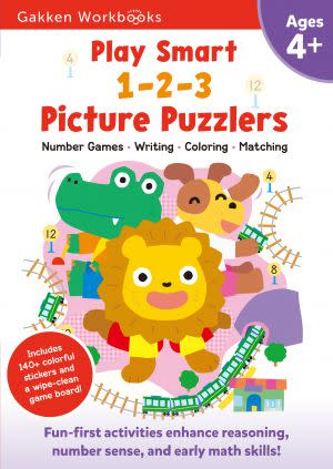 Award-Winning Children's book — Play Smart 1-2-3 Picture Puzzlers 4+