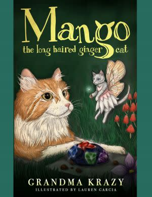 Award-Winning Children's book — Mango The Long Haired Ginger Cat