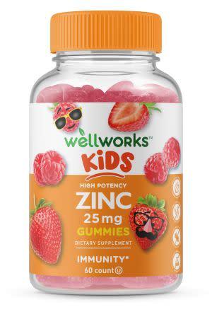 Award-Winning Children's book — Zinc Gummies