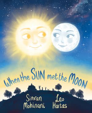 Award-Winning Children's book — When the Sun Met the Moon