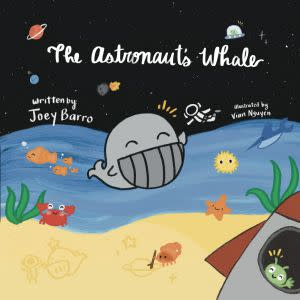 Award-Winning Children's book — The Astronaut's Whale